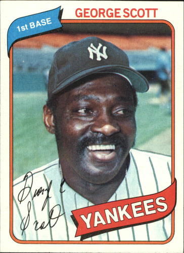 Photo of 1980 Topps #414 George Scott