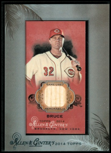 Photo of 2014 Topps Allen and Ginter Mini Framed Relics #RBJBR Jay Bruce B