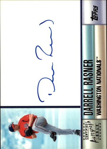 Photo of 2006 Topps Autographs #DR Darrell Rasner H