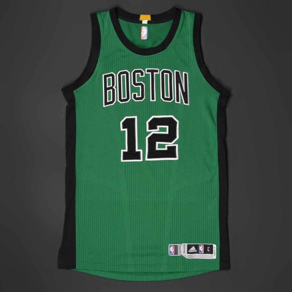 hot sale online 196f1 d9d9a Terry Rozier - Boston Celtics - Game-Worn Alternate Jersey ...
