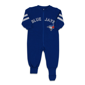 Toronto Blue Jays Infant Convert Foot Sleeper by Snugabye