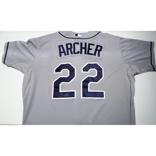 Compton Youth Academy Auction: Chris Archer Signed Jersey