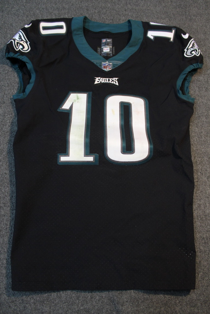 the latest 7451c 45e74 NFL Auction | STS - EAGLES MACK HOLLINS GAME WORN EAGLES ...