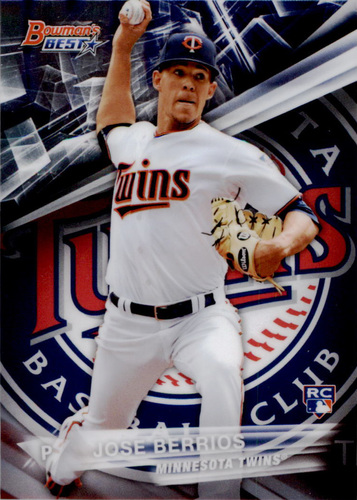 Photo of 2016 Bowman's Best #36 Jose Berrios Rookie Card