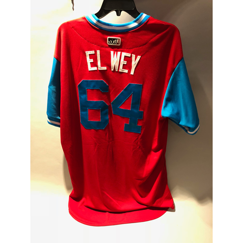 "Photo of Philadelphia Phillies 2018 Little League Classic Game-Used Jersey - Victor ""El Way"" Arano - 8/19/2018"