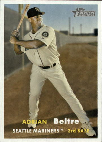 Photo of 2006 Topps Heritage #47 Adrian Beltre