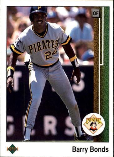 Photo of 1989 Upper Deck #440 Barry Bonds