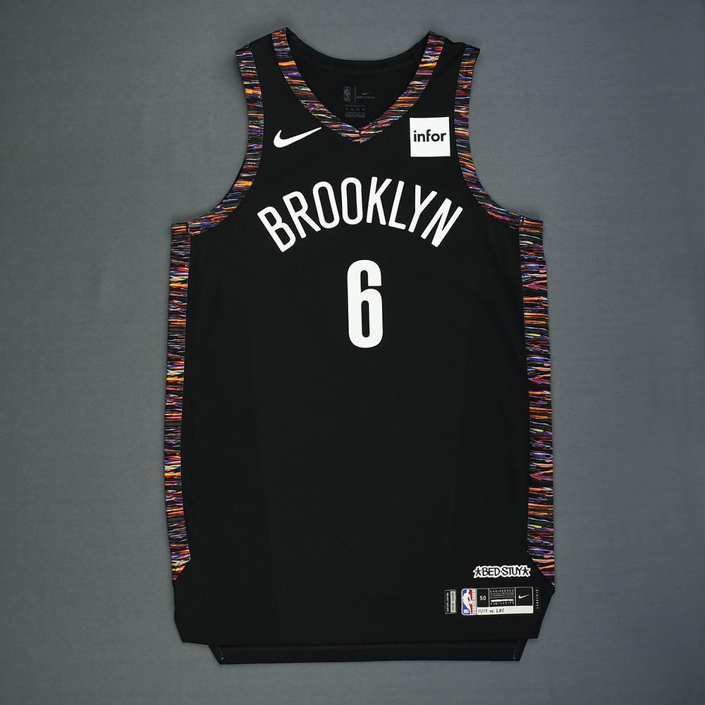 Jared Dudley - Brooklyn Nets - Game-Worn City Edition Jersey - 2018-19 Season