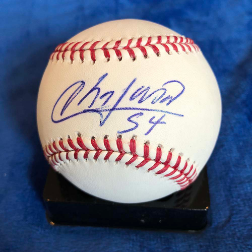 Photo of UMPS CARE AUCTION: Aroldis Chapman Signed Baseball