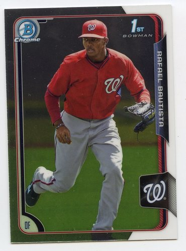 Photo of 2015 Bowman Chrome Prospects #BCP42 Rafael Bautista