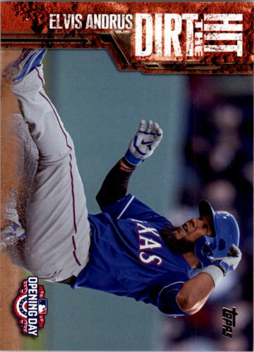 Photo of 2015 Topps Opening Day Hit the Dirt #HTD13 Elvis Andrus