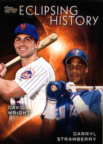 Photo of 2015 Topps Eclipsing History #EH10 Darryl Strawberry/David Wright