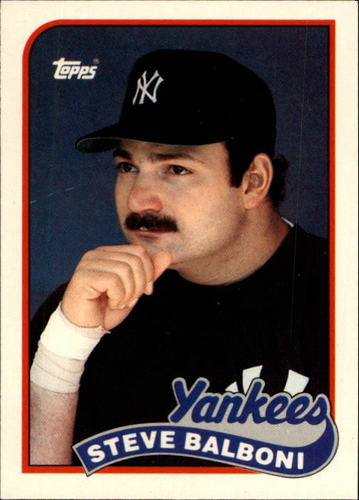 Photo of 1989 Topps Traded #6T Steve Balboni