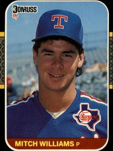 Photo of 1987 Donruss #347 Mitch Williams RC *