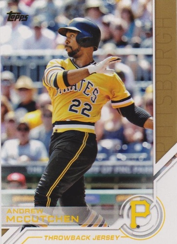 Photo of 2017 Topps Salute #S60 Andrew McCutchen