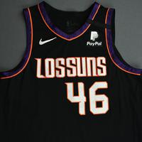 Aron Baynes - Phoenix Suns - Game-Worn City Edition Jersey - Dressed, Did Not Play - 2019-20 NBA Season