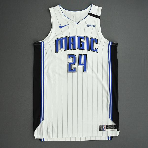 Image of Khem Birch - Orlando Magic - Game-Worn Association Edition Jersey - 2019-20 NBA Season Restart