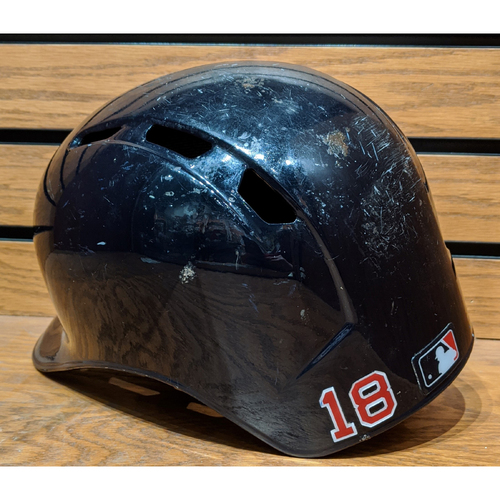 Photo of Mitch Moreland #18 Game Used Batting Helmet