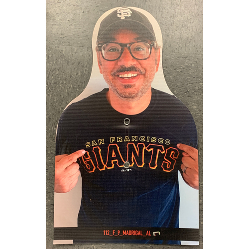 Photo of Giants Community Fund - Celebrity Cutouts - Al Madrigal