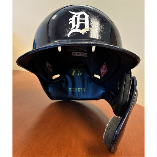 Photo of #54 Detroit Tigers Team-Issued 2020 Home Batting Helmet (MLB AUTHENTICATED)