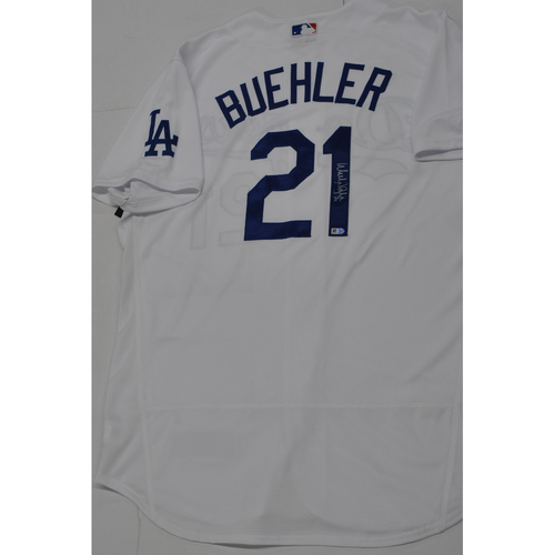 Photo of Walker Buehler Authentic Autographed Jersey