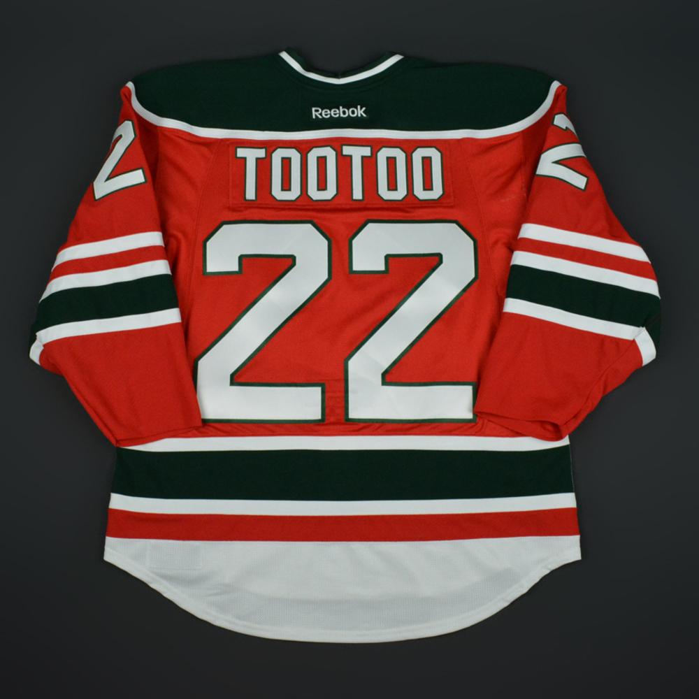 600bab6ab Jordin Tootoo - New Jersey Devils - Retro Night Game-Worn Jersey - Worn  February 16