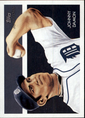 Photo of 2010 Topps National Chicle #40 Johnny Damon