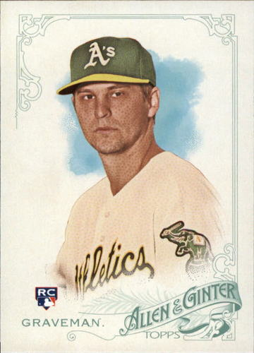 Photo of 2015 Topps Allen and Ginter #97 Kendall Graveman RC
