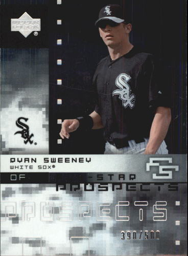 Photo of 2007 Upper Deck Future Stars All Star Futures #RS Ryan Sweeney 159/500
