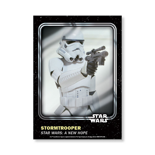 Stormtrooper 2016 Star Wars Card Trader Base Poster - # to 99
