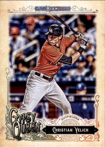 Photo of 2017 Topps Gypsy Queen #192 Christian Yelich