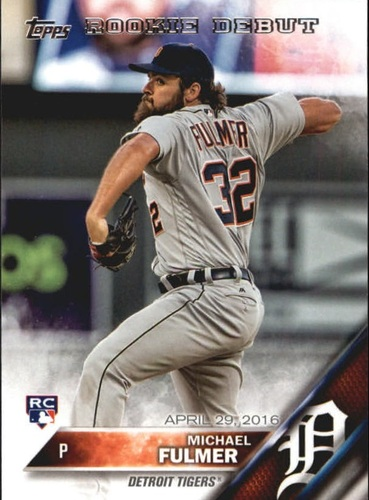 Photo of 2016 Topps Update #US204 Michael Fulmer Rookie Card