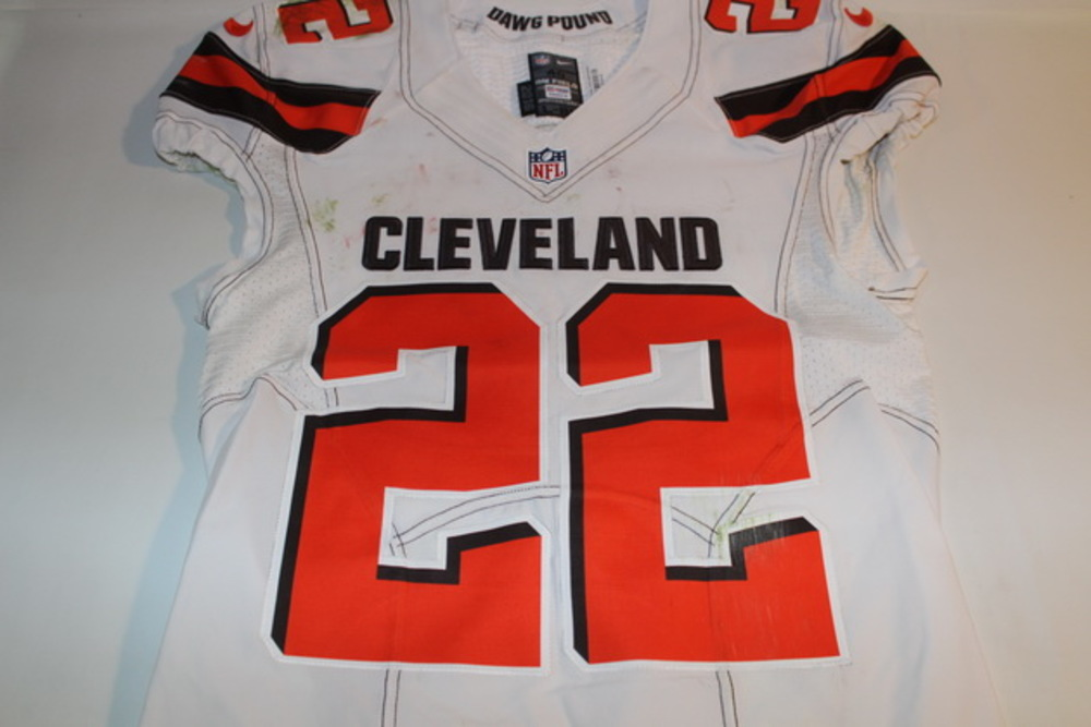 official photos a0db1 8773c NFL Auction | STS - BROWNS TRAMON WILLIAMS GAME WORN BROWNS ...