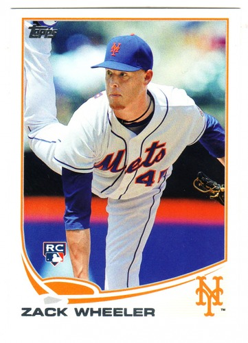 Photo of 2013 Topps Update #US50 Zack Wheeler  Rookie Card
