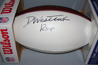 NFL - JAGUARS DEDE WESTBROOK SIGNED PANEL BALL