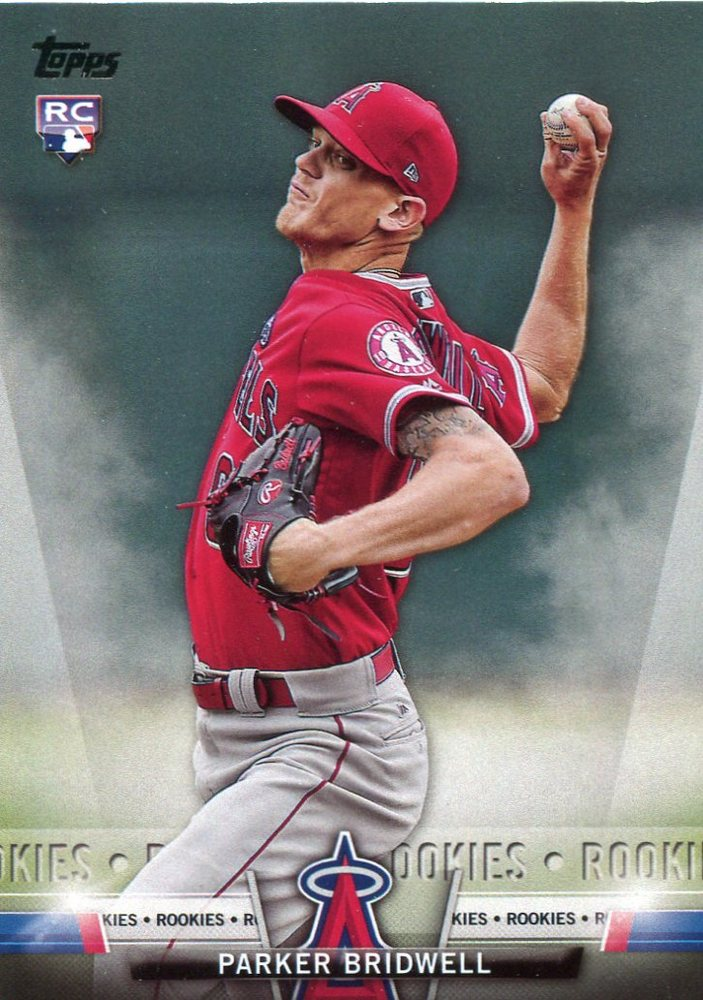 2018 Topps Salute #TS95 Parker Bridwell