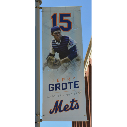 Photo of Jerry Grote - Citi Field Banner - 2017 Season