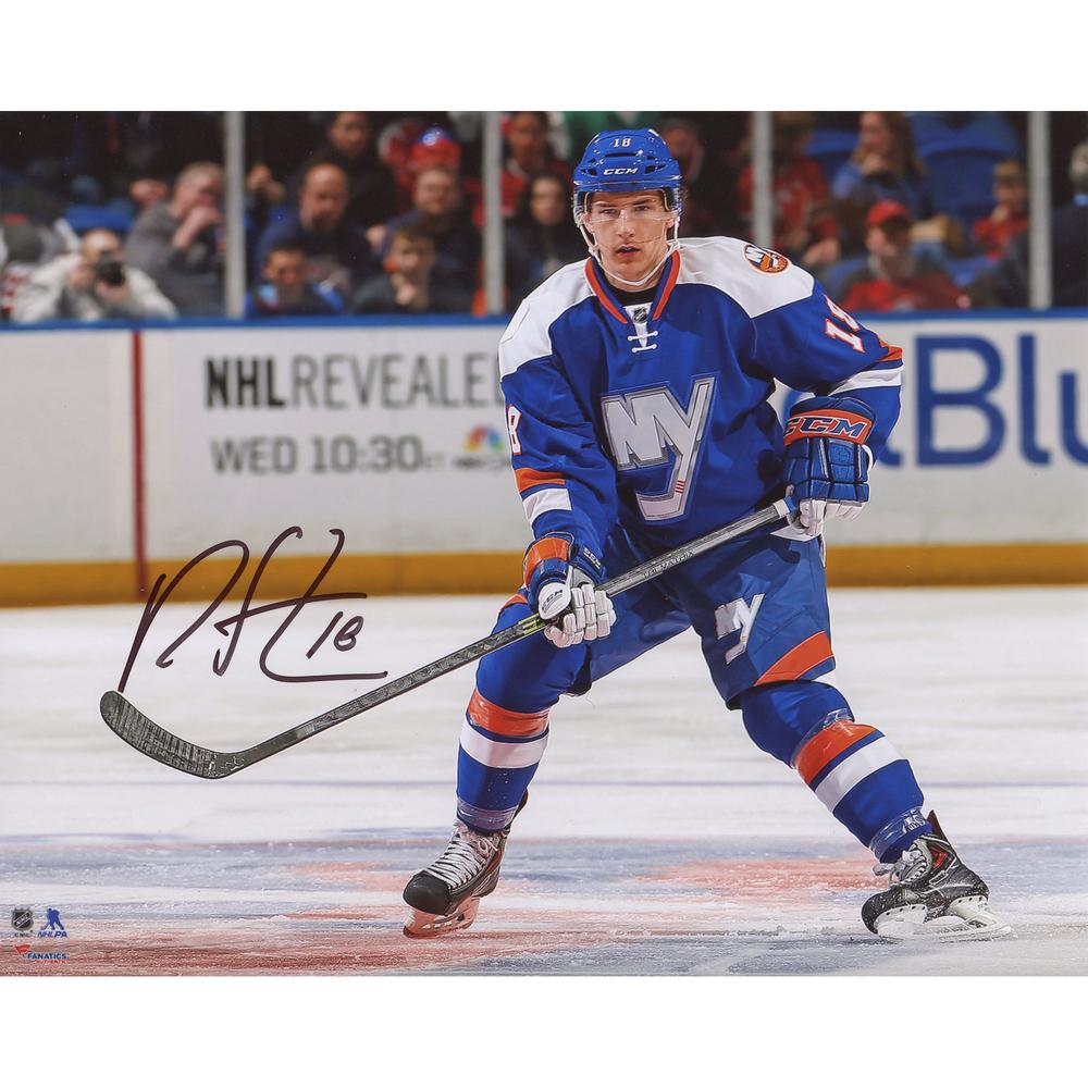 Ryan Strome New York Islanders Autographed Horizontal 8
