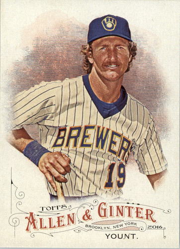 Photo of 2016 Topps Allen and Ginter #117 Robin Yount