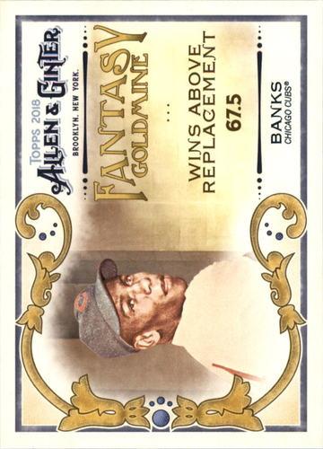 Photo of 2018 Topps Allen and Ginter Fantasy Goldmine #FG21 Ernie Banks