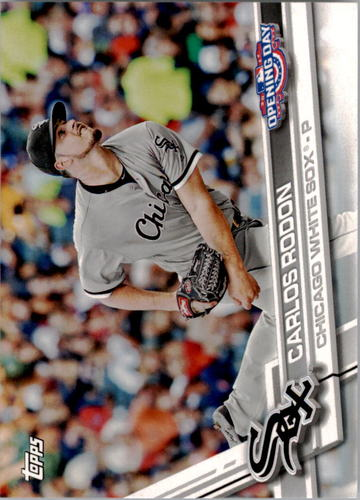 Photo of 2017 Topps Opening Day #62 Carlos Rodon