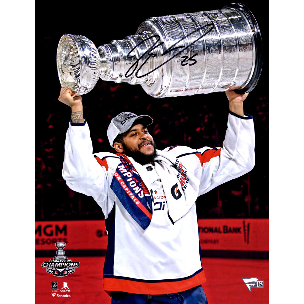 Devante Smith-Pelly Washington Capitals Autographed 11