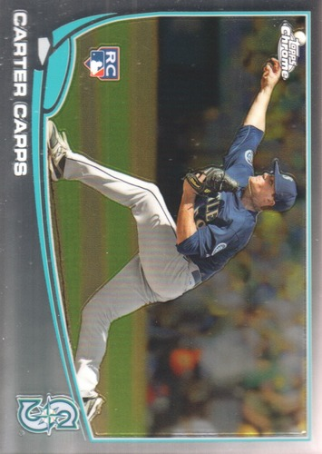 Photo of 2013 Topps Chrome #170 Carter Capps RC