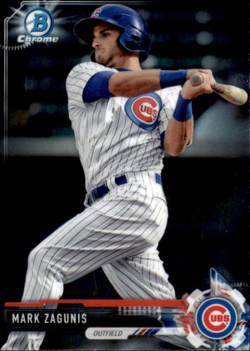 Photo of 2017 Bowman Chrome Prospects #BCP131 Mark Zagunis