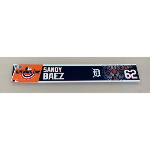 Photo of 2019 Opening Day Locker Name Plate: Sandy Baez