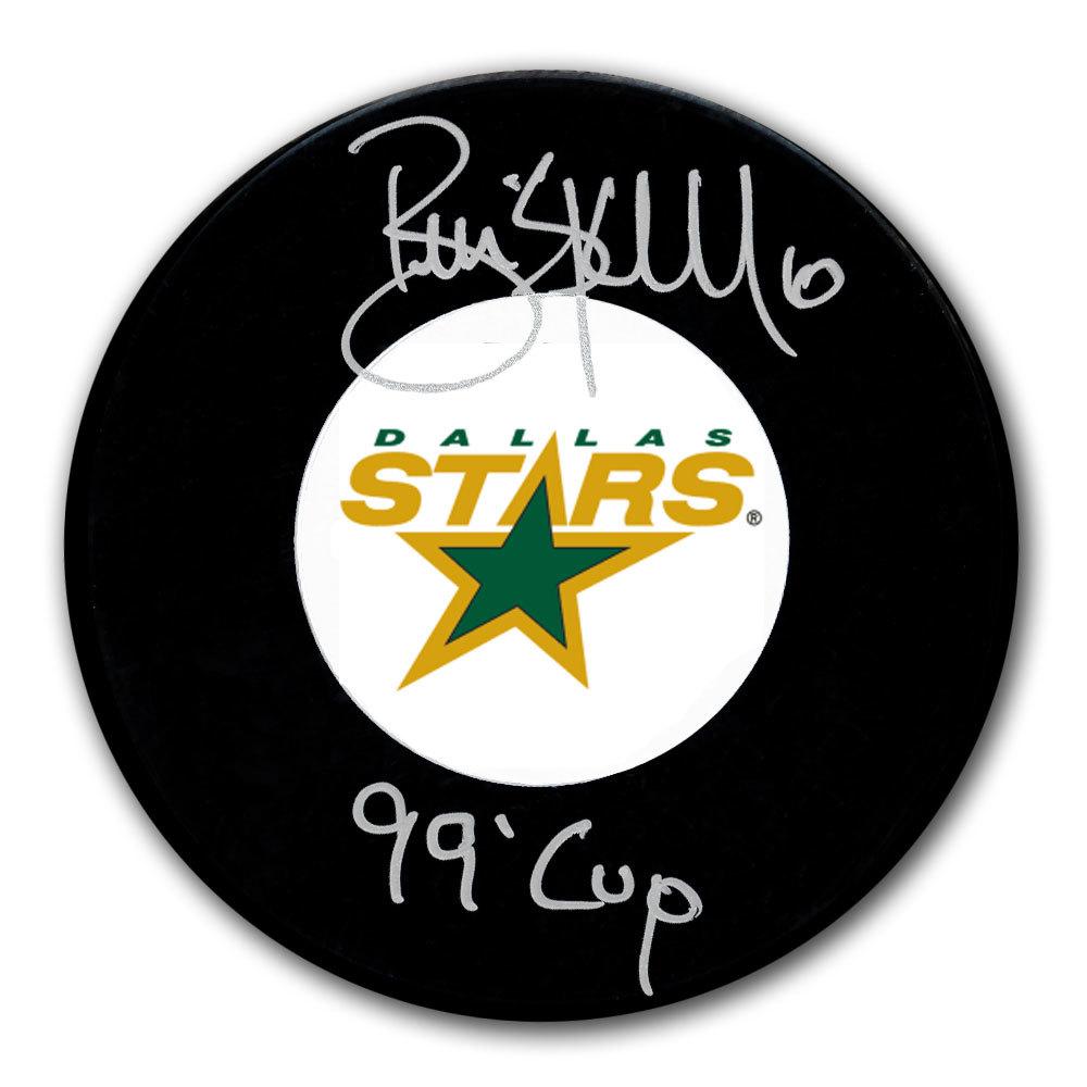 Brian Skrudland Dallas Stars 1999 Cup Autographed Puck