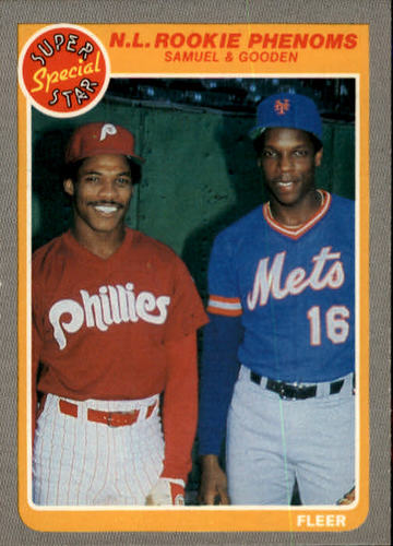 Photo of 1985 Fleer #634 Dwight Gooden/Juan Samuel