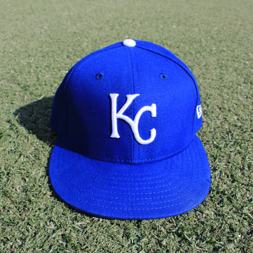 Photo of Game-Used Cap: Mike Montgomery (Size 7 1/4 - MIN @ KC - 9/29/19)