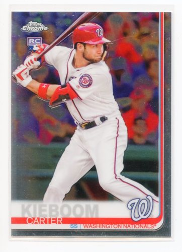 Photo of 2019 Topps Chrome Update #22 Carter Kieboom RC