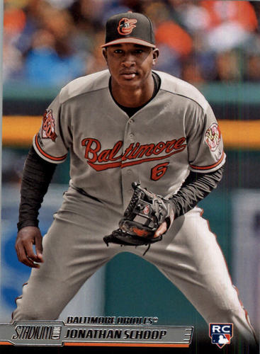 Photo of 2014 Stadium Club #59 Jonathan Schoop RC